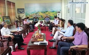 Cao Đẳng Kinh Tế Công Nghệ Hà Nội Hợp tác với trường Cao đẳng Công nghiệp kỹ thuật Bắc Giang
